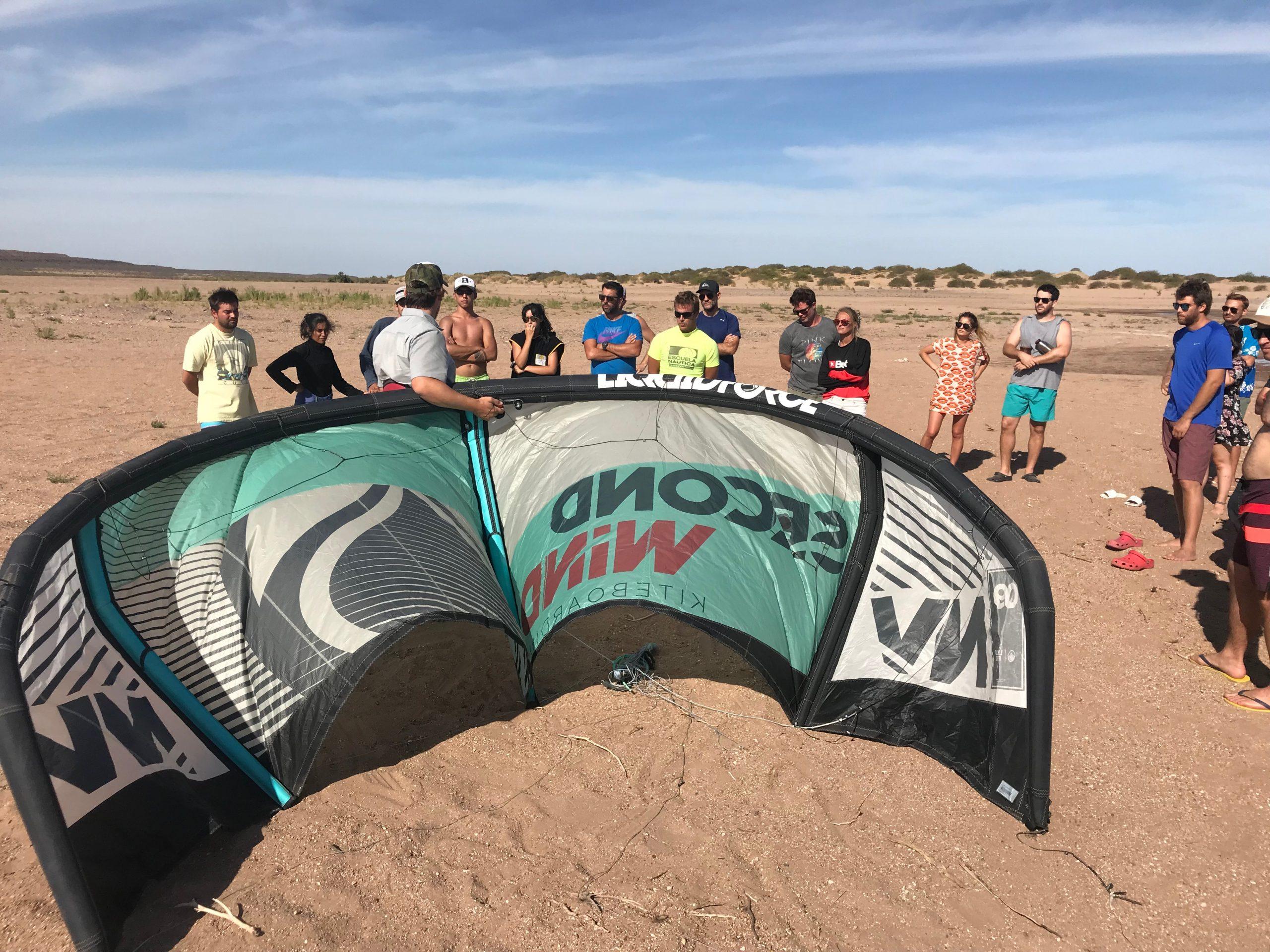 clases de kite kitesurf autorescate